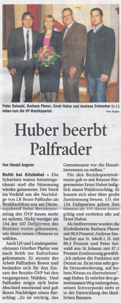 Tiroler Tageszeitung - 25. September 2014