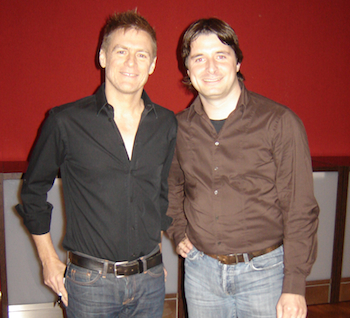 Peter Seiwald mit Bryan Adams