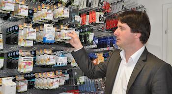 Ob Kunden- oder Bürgerorientierung: Der WB-Landtagskandidat setzt auf Kompetenz