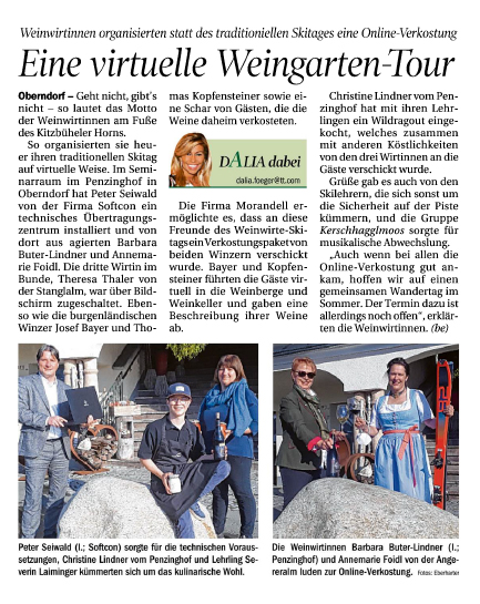 Eine virtuelle Weingarten-Tour