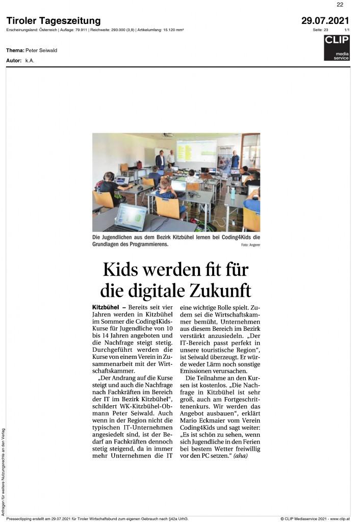07_2021_Tiroler_Tageszeitung_kids_werden_fit_fuer_die_digitale_Zukunft