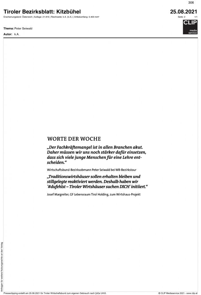 08_2021_tiroler_bezirksblatt_kitzbühel_worte der woche