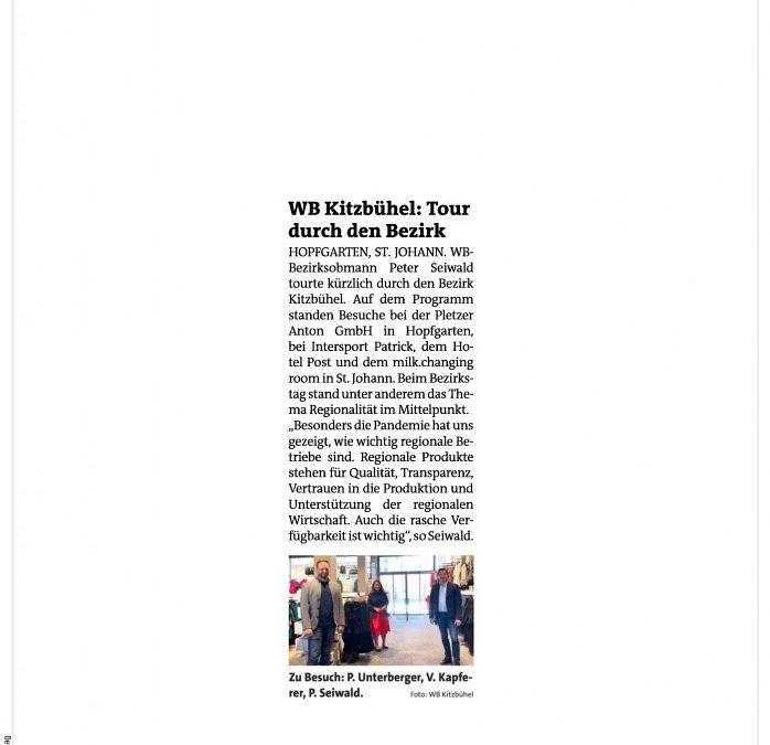WB Kitzbühel: Tour durch den Bezirk