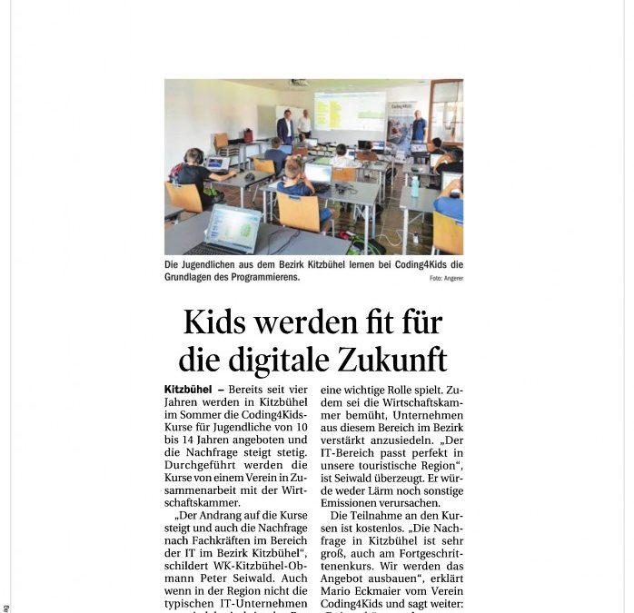 Kids werden fit für die digitale Zukunft